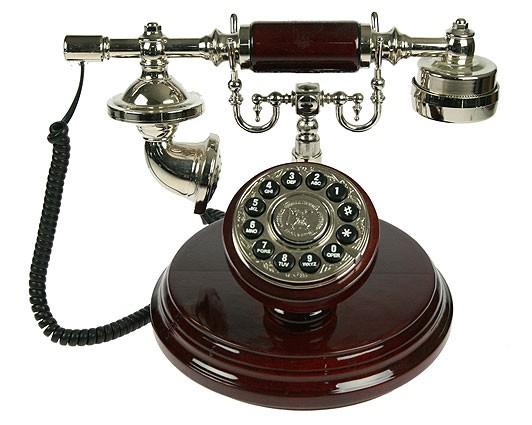 Настольный ретро телефон Назад в прошлое