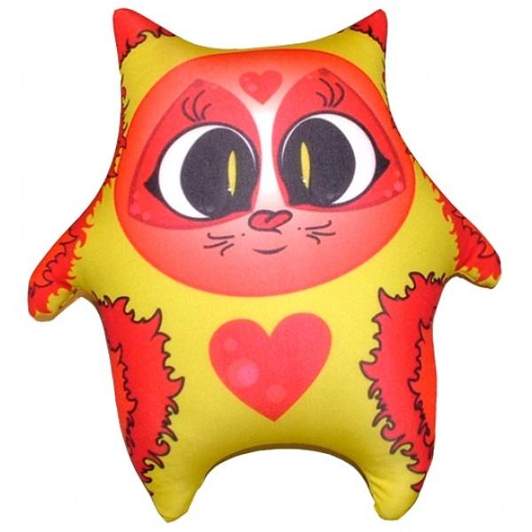 Игрушка антистресс Желтый Котя (большой)