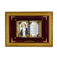 Православное панно Серафим Саровский