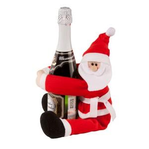 Украшение для шампанского Дед Мороз