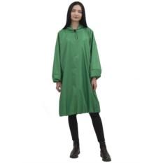 Удлиненный зелёный дождевик с карманами Hobo code