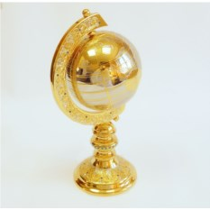Настольный глобус Золотой