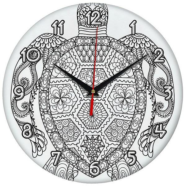 """Настенные часы-раскраска """"Черепаха"""": лучшая цена и ..."""