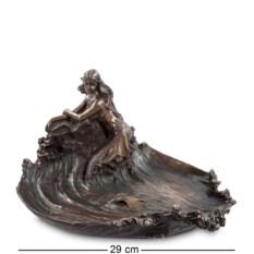 Статуэтка Русалка на скале ,высота 15,5 см