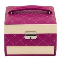 Розовая шкатулка для хранения украшений Champ Collection