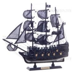 Корабль Черная жемчужина , длина 40см