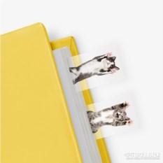 Маркеры для страниц Cat in a book (100 шт.)