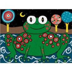 Картина по номерам «Лягушка Карлы Жерар»