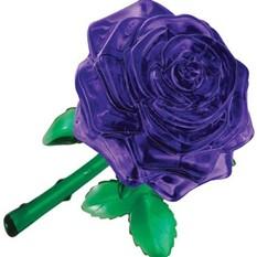 3D головоломка Роза. Пурпурный цветок любви