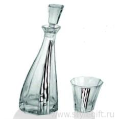 Набор для виски Linea Argenti