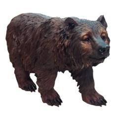 Декоративная садовая фигура Медведь на ногах