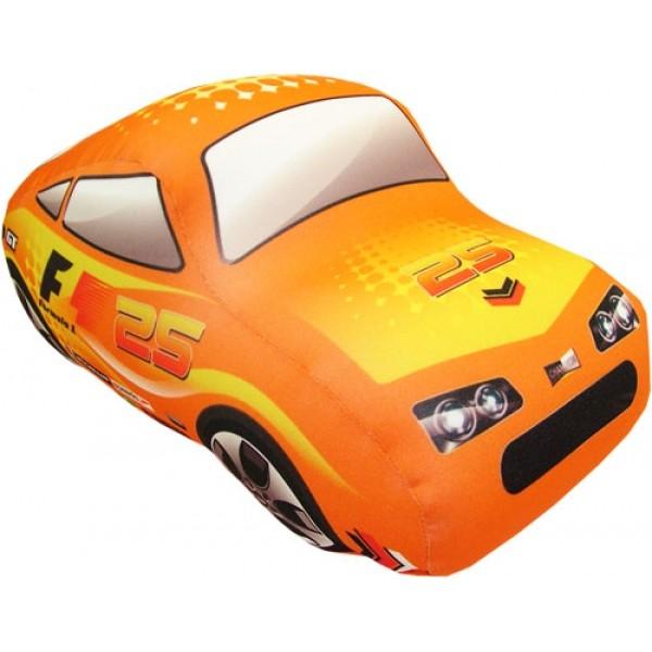 Игрушка антистрессовая Машинка объемная оранжевая