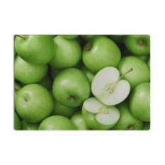 Разделочная стеклянная 3D доска Яблочная