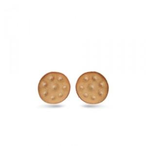 Серьги-гвоздики Cracker