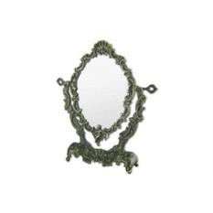 Бронзовое настольное зеркало Ракушка