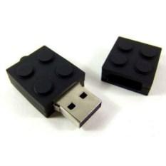 Флешка LEGO (цвет — черный)