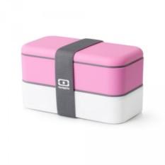 Розово-белый ланч-бокс MB Original