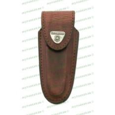 Коричневый кожаный чехол для ножей Victorinox