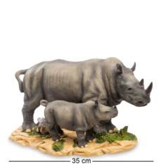 Статуэтка Носорог с детенышем