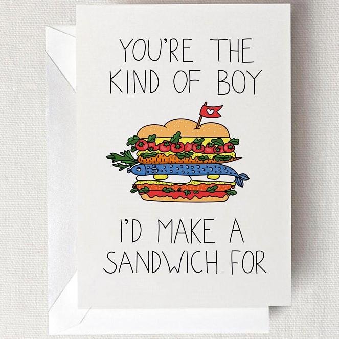 Открытка Sandwich