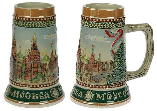 Пивная кружка Москва