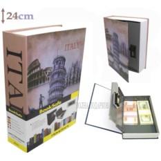 Книга-сейф с кодовым замком Italy (высота 24 см)