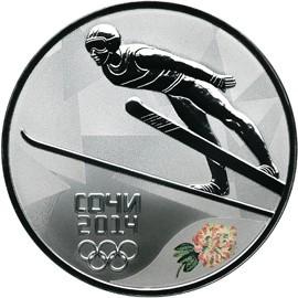 Монета - Прыжки на лыжах с трамплина