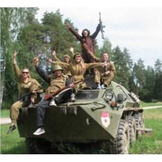 Подарочный сертификат Катание на танке