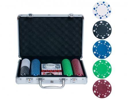 Набор для покера на 200 фишек без номинала Lite