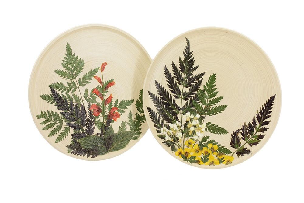 Набор тарелок Уголок природы