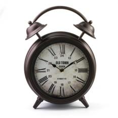 Настольные часы Будильник (тёмная медь)