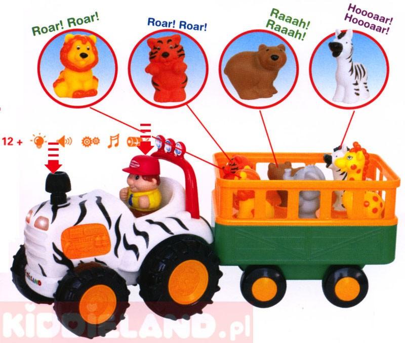 Развивающая игрушка Трактор Сафари