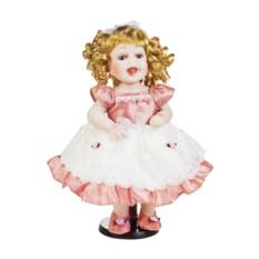 Фарфоровая кукла Кудряшка с бантиком
