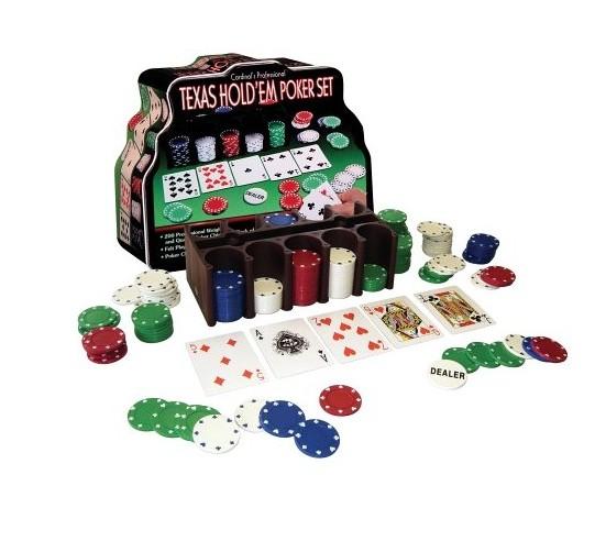 Набор для покера с сукном 200