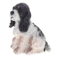 Декоративная садовая фигура Собачка Милька