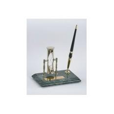 Настольный набор: ручка, песочные часы
