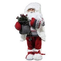Игрушка Санта с подарком, 47 см