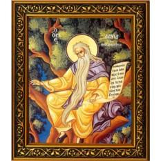 Икона на холсте Давид Солунский (Фессалоникийский)