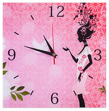 """Настенные часы """"Фея времени"""""""