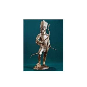 Cкульптура Индеец