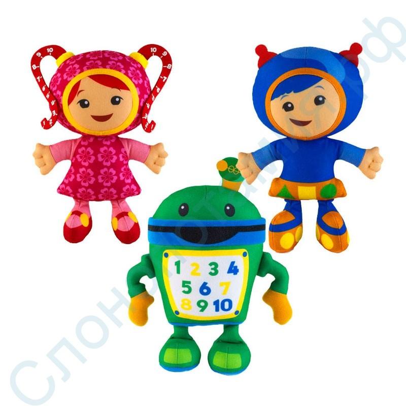 Набор мягких мини-игрушек Герои команды Умизуми (Umizoomi)