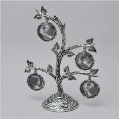 Фоторамка кружочками Семейное дерево