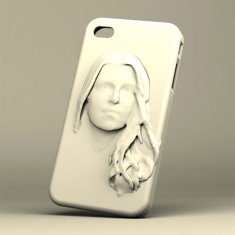 Кейс для смартфона 3DYA (отполированный пластик)