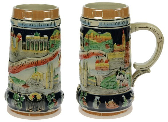 Пивная кружка коллекционная Германия