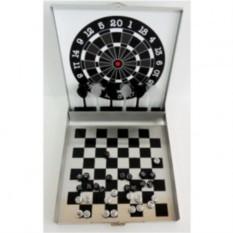 Набор игр Шахматы, шашки, дартс