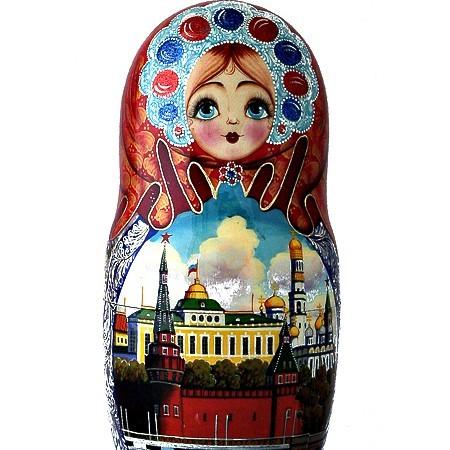 Набор матрешек Москва златоглавая