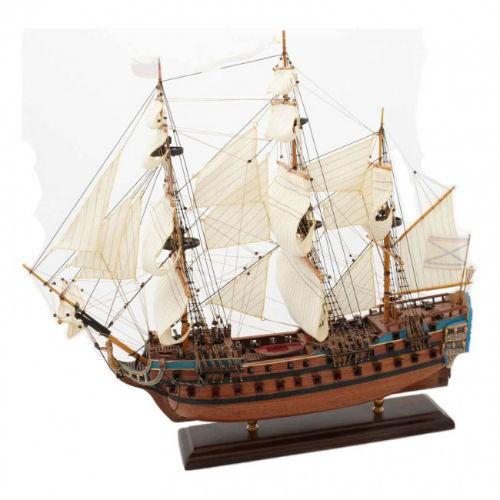 Модель русского корабля Линкор Святой Павел