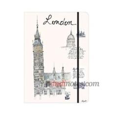 Записная книжка teNeues City Journal — London