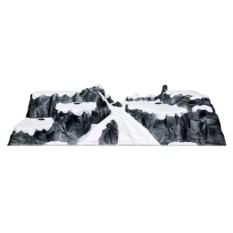 Интерьерная композиция Горное плато с крутым спуском