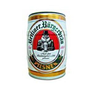 Пиво в жестяной бочке